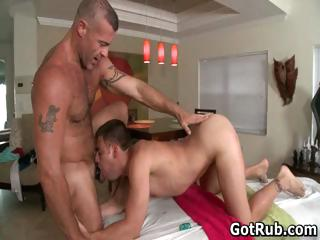Rub-down pro in abyss anal wrecking gay
