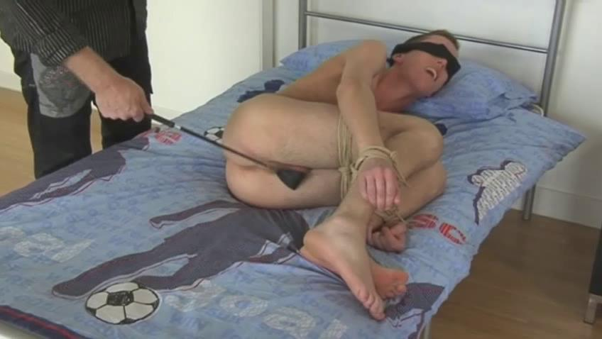 Blonde gay gay blade gets blindfolded and spanked with a horse abscond