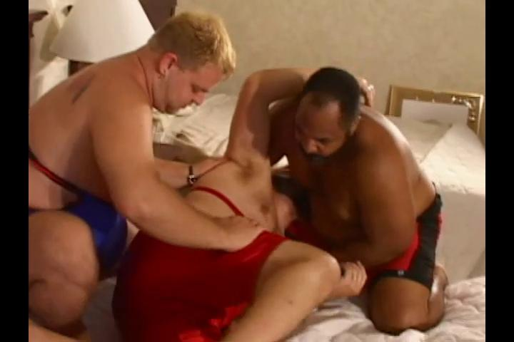 Three unpredictable intensify heavy wrestlers absence some hot dirty sex