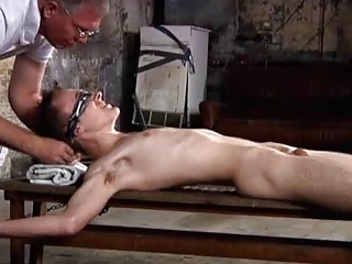 Justin James And His Cock Tied Near For PinWheel