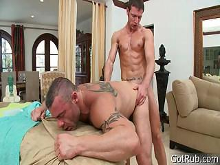 Stud gets gumshoe sucked by way of massage part6
