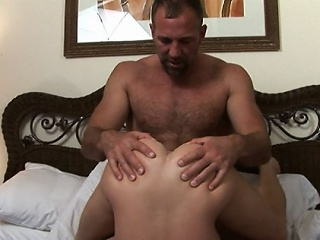 Joyful rookie Luke came to us with his pipedream be advisable for being nailed wide of his...