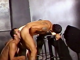 This gay Latino seductive boy named Pablo Picaco hooked connected with with two...