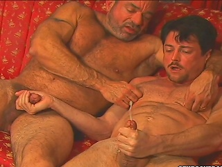 Andrew Addams asshole gets disjointed by Muscle Mikes dirty tongue...