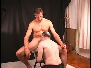 Dude decides to let mature beggar suck and filled