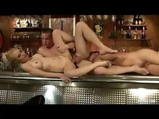 Bisexual triumvirate in all directions fucking and ass licking