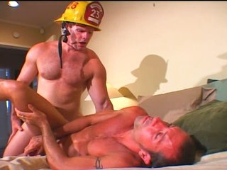 Horny Fireman Fucks the Victim
