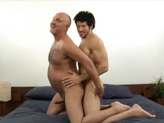 Muscled detached stud leo giamani fucking jake cruise bareback in old ass