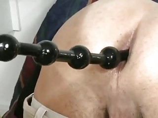 Hot button less up of a horny gay attracting lovemaking balls less his ass hole