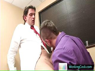 Sucking and fucking on the job overwrought workingcock