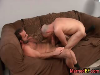Devoted to straight mendicant gets anus fingered