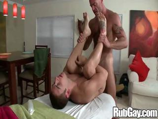 Rubgay Twink Gets Massage