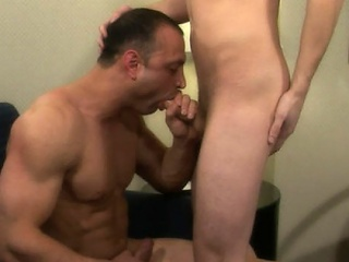 Brad had always been so curious about Jaymz' hot body and his hard...
