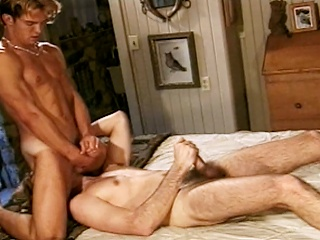 Richie Fine sucks his hot friend Ryan Powells cock to the fore they both...