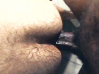 Wild interracial gay intercourse