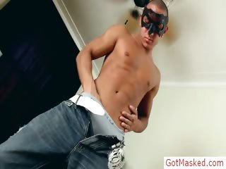 Fabulous latin shut off equally his body