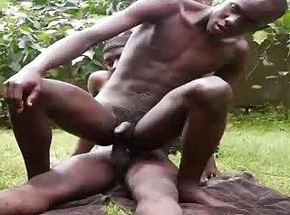 Non Stop Black Anal Bareback Indoor Increased by Alfresco