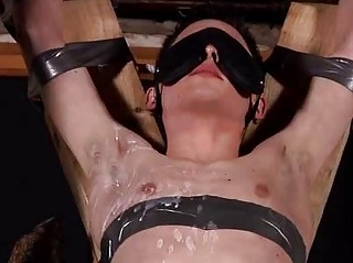 Aaron Sun-up Fated On touching Blindfolded And Sucking