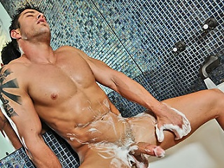 Erotic cody have a dirty session alone...