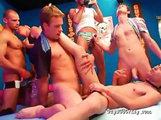 Careless anal sex party