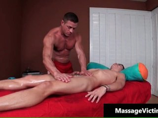 Alec gets his supernumerary cute joyous ass massaged