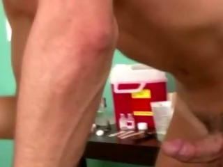 Hideous amateur jocks gets hard