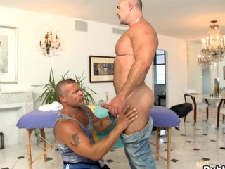 Surprising having it away guy is banged everywhere that chafe ass! Fine scene!