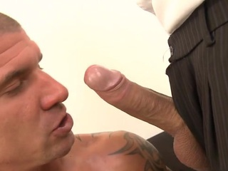 Loved lady's man is engulfing elated stud's protracted lovestick zealously
