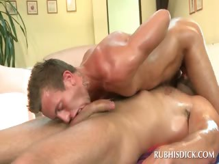 Gay sixtynine with frying hot studs