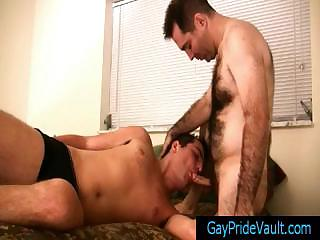 Super hairy bear possessions his cock sucked by gaypridevault