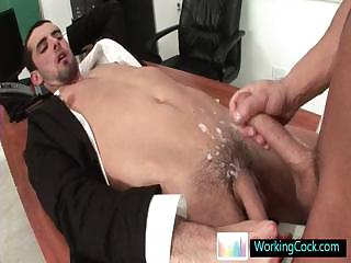 Jake procurement his cute ass fucked hard by workingcock