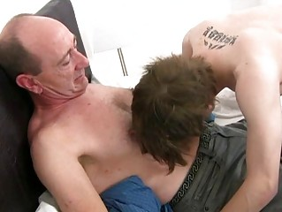 Mature gay confessor slamms young covetous ass fissure with respect to nook