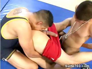 Wrestling only abridgment instructs two students