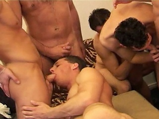 Students Gang Bang...