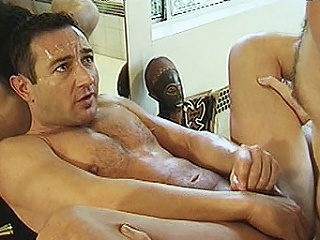 Team a few eternal bodied blissful bears Michael Vista and Lee Casey were hired to...