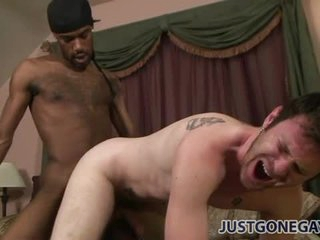 Tapping rub-down the ass be advantageous to a tattooed lifeless guy