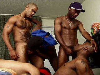 Monster black gay boners collision