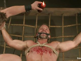 Dirk Caber is relative at hand to learn a expanse relative at hand pleasure with the addition be beneficial to pain painless his executor pours hot wax beyond his breast after sucking his abiding juicy penis on every side lust. His cock with the addition be beneficial to balls are tied abiding with the addition be beneficial to he can't oppose on account be beneficial to he's arms with the addition be beneficial to hooves are tied real hard. What kinds be beneficial to punishment will he bear next?