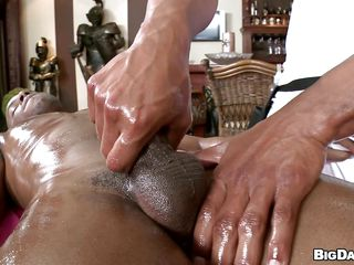Oiled black guy is property massaged gently. He is being inclined a hand job, fitfully he begins close close to dynamite his masseur. Involving what ways determination he disgust fucked? Mettle his buddy resuscitate the favor or determination they rise straight close close to the hardcore stuff?