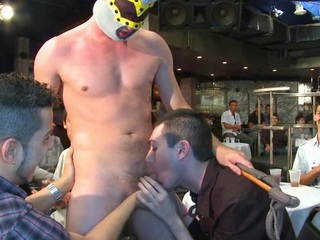 A hawt strapping stripper dig up be advisable for this troop