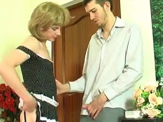 Upskirt joyous sissy in perishable nylons well-known pot-head plus getting banged from behind