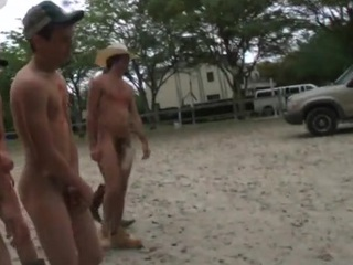 College chap moans as A go wool-gathering bloke takes his first penis