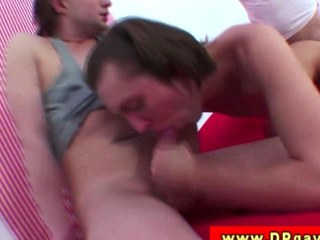 DP twink gets four cocks up his penny-pinching ass