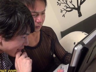 Analized asian cum sopping