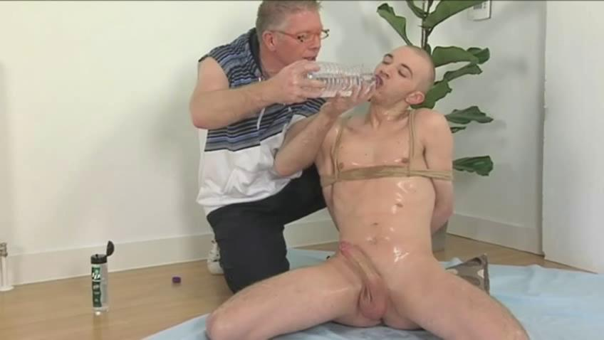 Perverted old man together with booked basic twink