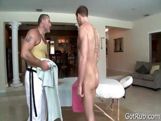 Tattooed hunk gets yawning chasm ill feeling part4