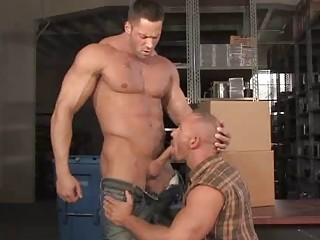 Oustandingly Bears Erik Rhodes and Samuel Colt Gagging