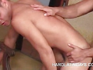 Hard Muscled Latinos Pursuance Anal