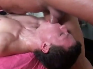 Cheerful bear masseuse bore fucks call into disrepute straighty