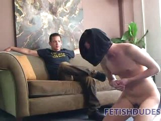 Naked pal must clean his accommodation billet